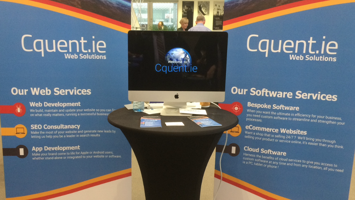 Cquent.ie at Waterford Chamber of Commerce Expo 2017 image2