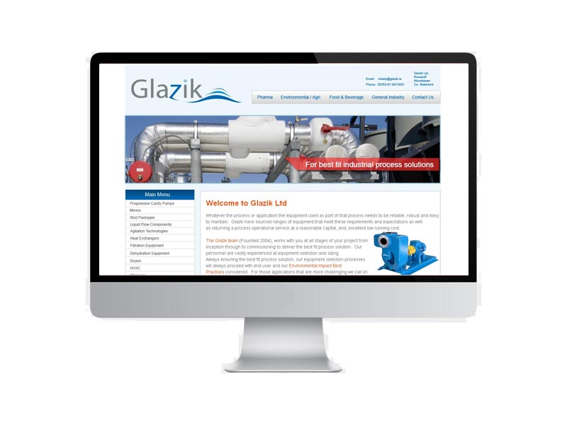 Link to the Glazik website