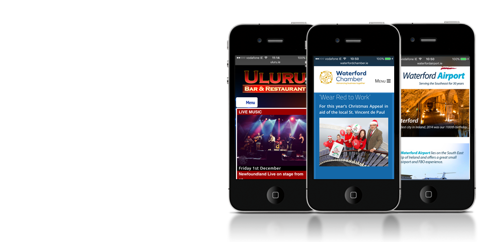 Waterford Responsive Websites