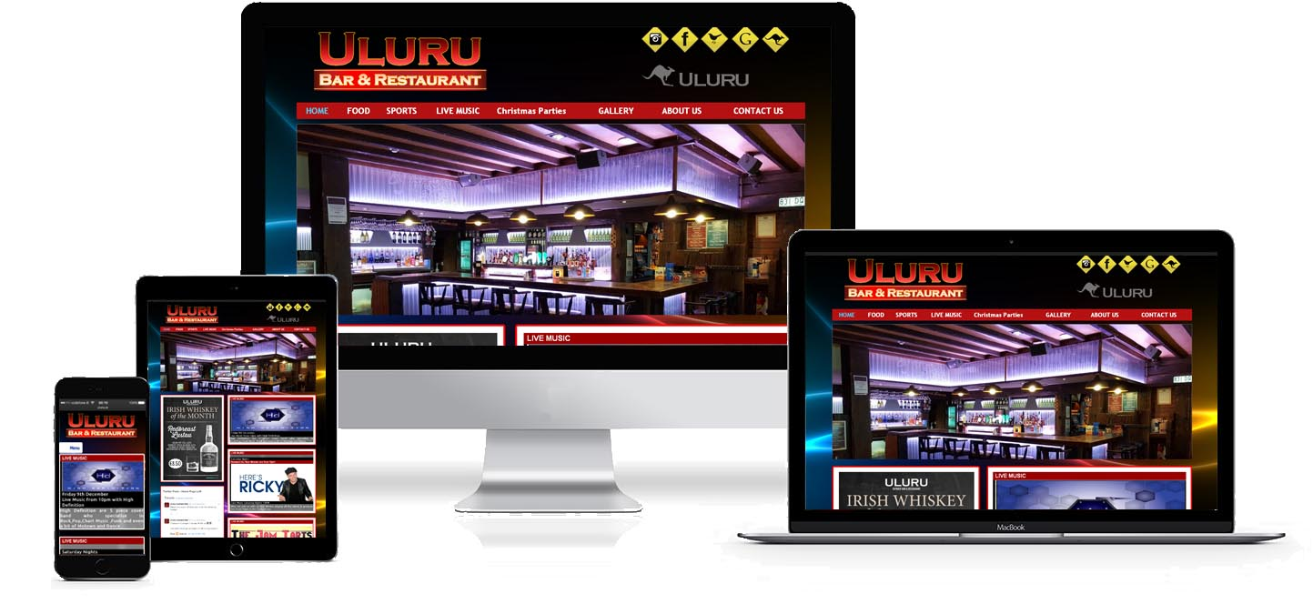 uluru website design project