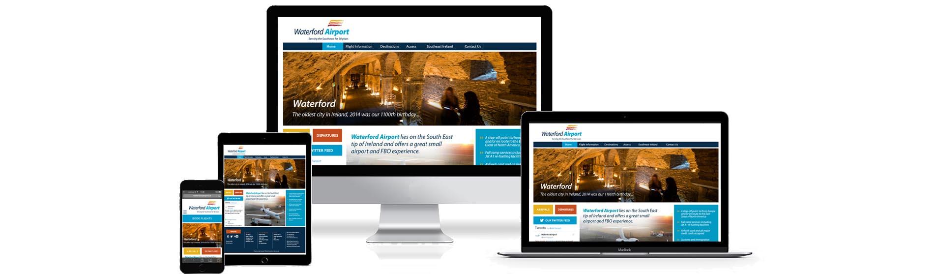 Website Design and Development Waterford - Website Design Company