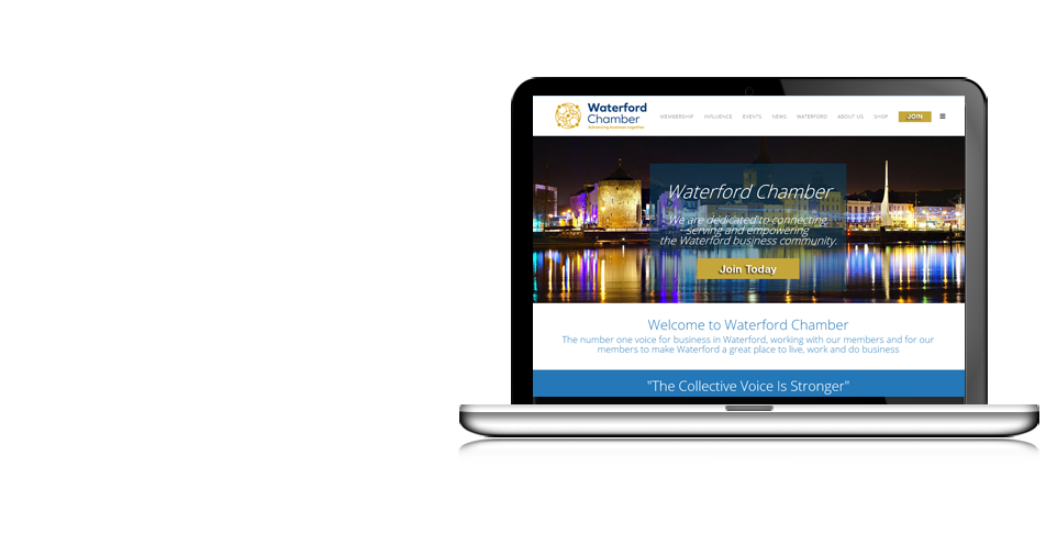 Link to Waterford Website Design at Cquent.ie